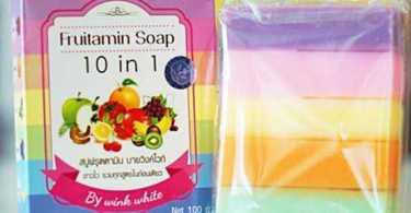 Fruitamin Soap 10 In 1