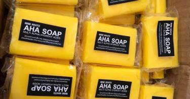 Mimi White AHA Soap