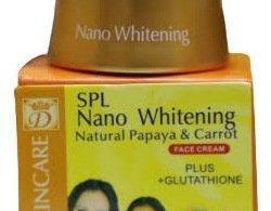Nano Whitening Face Cream