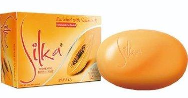 Silka Papaya Whitening Soap