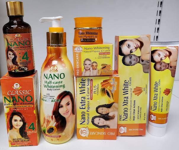 Nano extra white body lotion