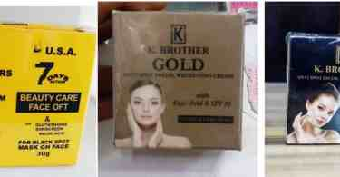 K brothers face cream