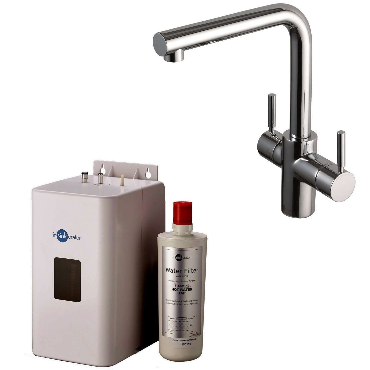 Best Kitchen Tap Insinkerator 3n1 Steaming Hot Water Tap 1