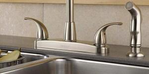 kitchen faucet holes