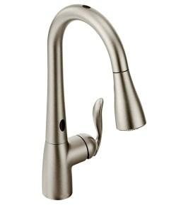 Ultra modern kitchen faucets moen 7594ESRS