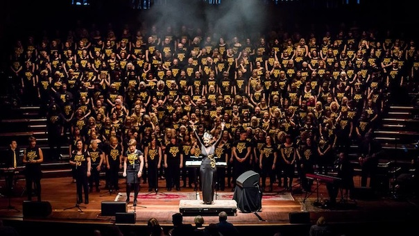 Maryam Ghaffari and Edinburgh GotSoul Choir (Interview)