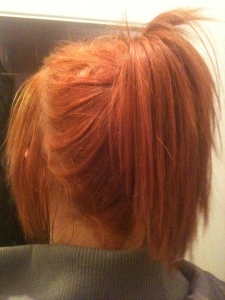 l oreal feria hair colorant in mango review