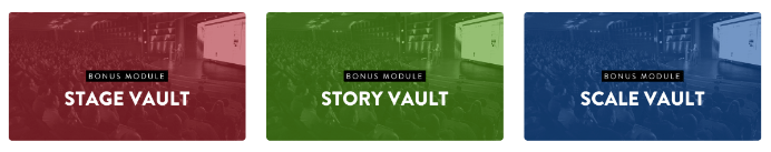 Stage To Scale Bonus Vaults