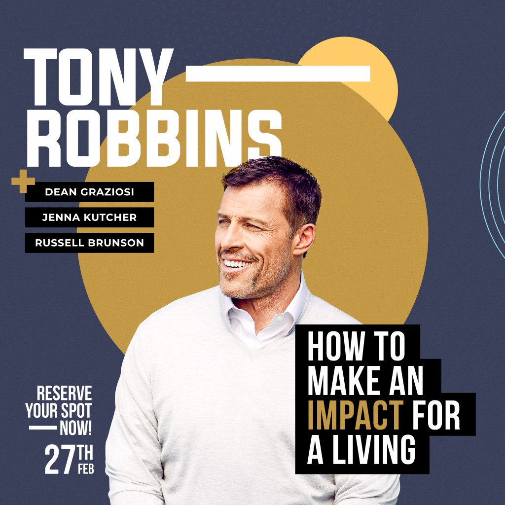 Tony Robbins KBB Training