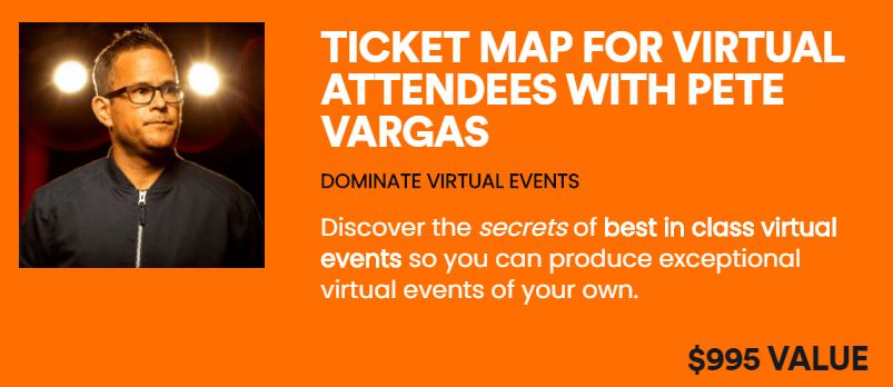 Pete Vargas Ticket Map