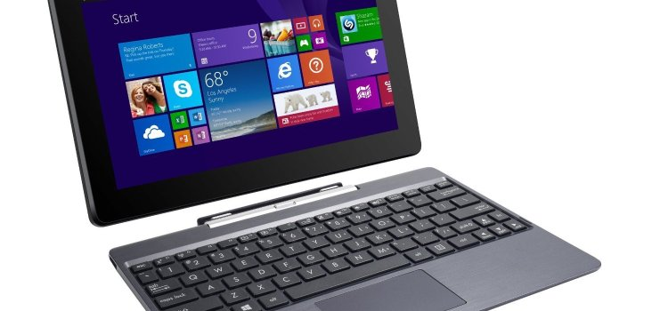 Asus Transformer Book 10.1 inch 32GB Detachable 2-in-1 Touch Laptop-Tablet