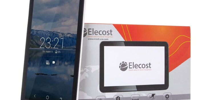 Elecost OctaTab Octa Core Android Tablet PC Android 5.1.1 Lollipop Allwinner A83T 10.1 inch 16GB