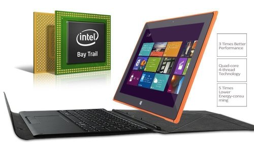 iClever 10.1 inch Windows Tablet with Detachable Keyboard & Stand, Window 8.1 OS