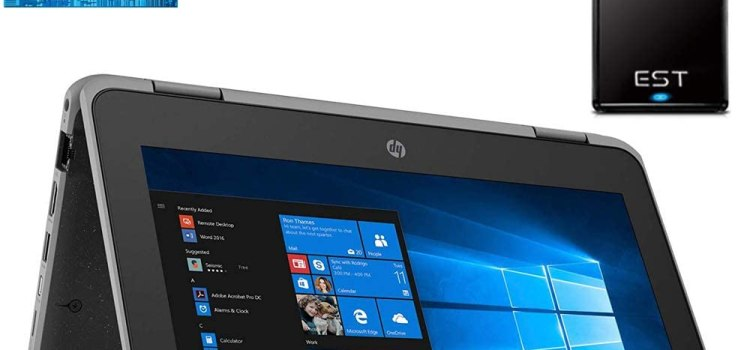 2020 HP ProBook x360 11.6-inch 2-in-1 Laptop Tablet LED Touchscreen