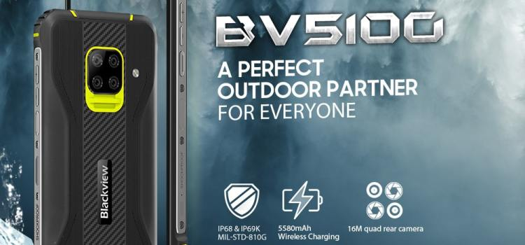 The Blackview BV5100 Smartphone Rugged