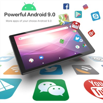 YQSAVIOR 10-inch 5G WiFi Tablet Android 9.0 Octa-Core Tablet