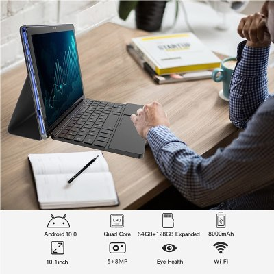 2021 ZONMAI MX2 10-inch Tablet with Keyboard
