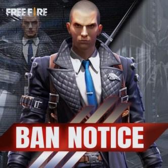 Garena Free Fire banned 6 juta akun