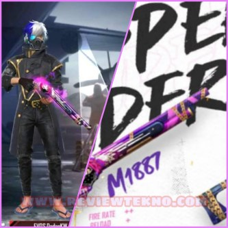 """Cara Mendapatkan Skin M1887 """"Rapper Underworld"""" Free Fire!"""