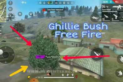 Ghillie Bush di FF adalah