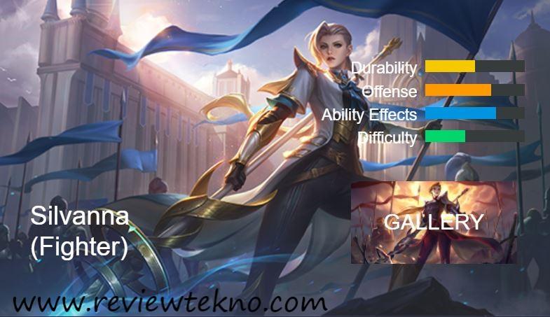 Build tersakit Hero silvanna Mobile legends