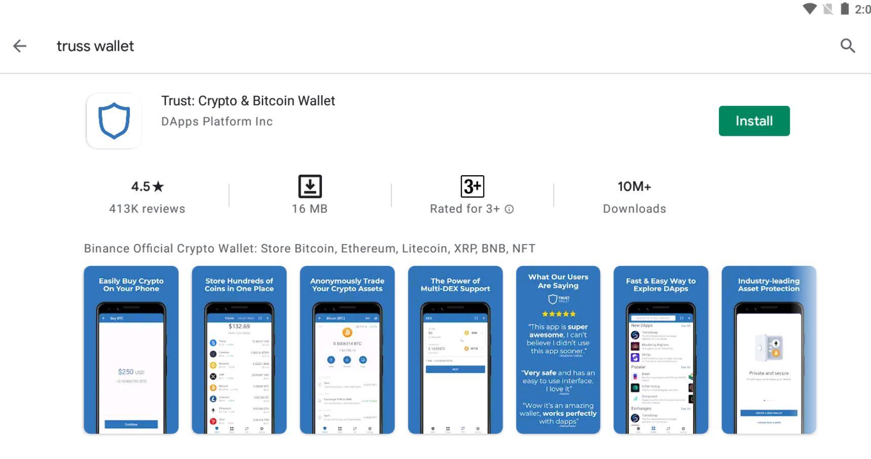 Cara Menggunakan Aplikasi Truss Wallet di Hp Terbaru 2021!