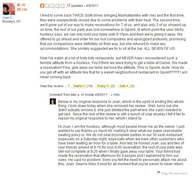 Respond To Negative Reviews Like These Business Owners
