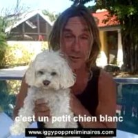 Iggy Pop With A Dog