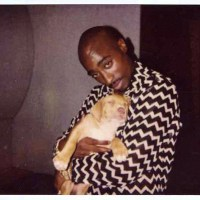 Tupac With A Dog