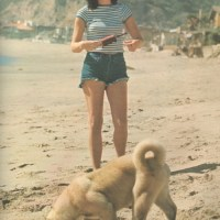 Linda Ronstadt With A Dog