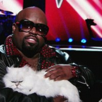 Cee Lo Green With A Cat