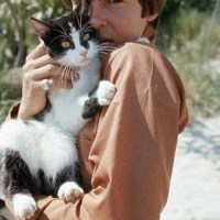 Davy Jones With A Cat