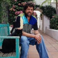 Alan Parsons With A Cat