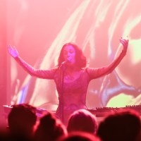 Photos: Kelly Lee Owens / Andrew Broder at the Fine Line