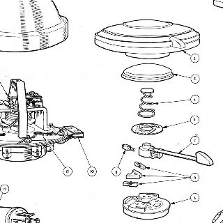 Tr6 Steering Column, Tr6, Free Engine Image For User