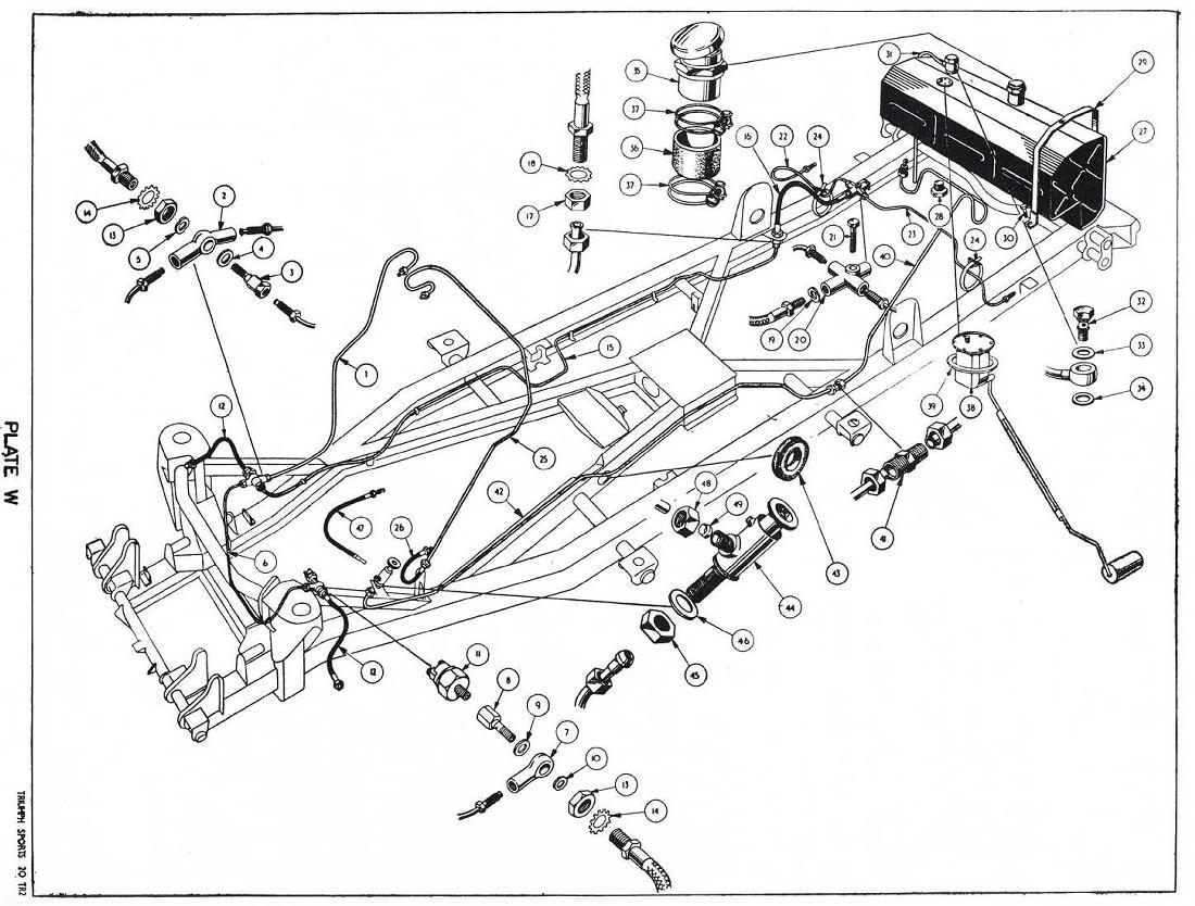 triumph tr3 wiring diagram aftermarket stereo 1968 javelin am
