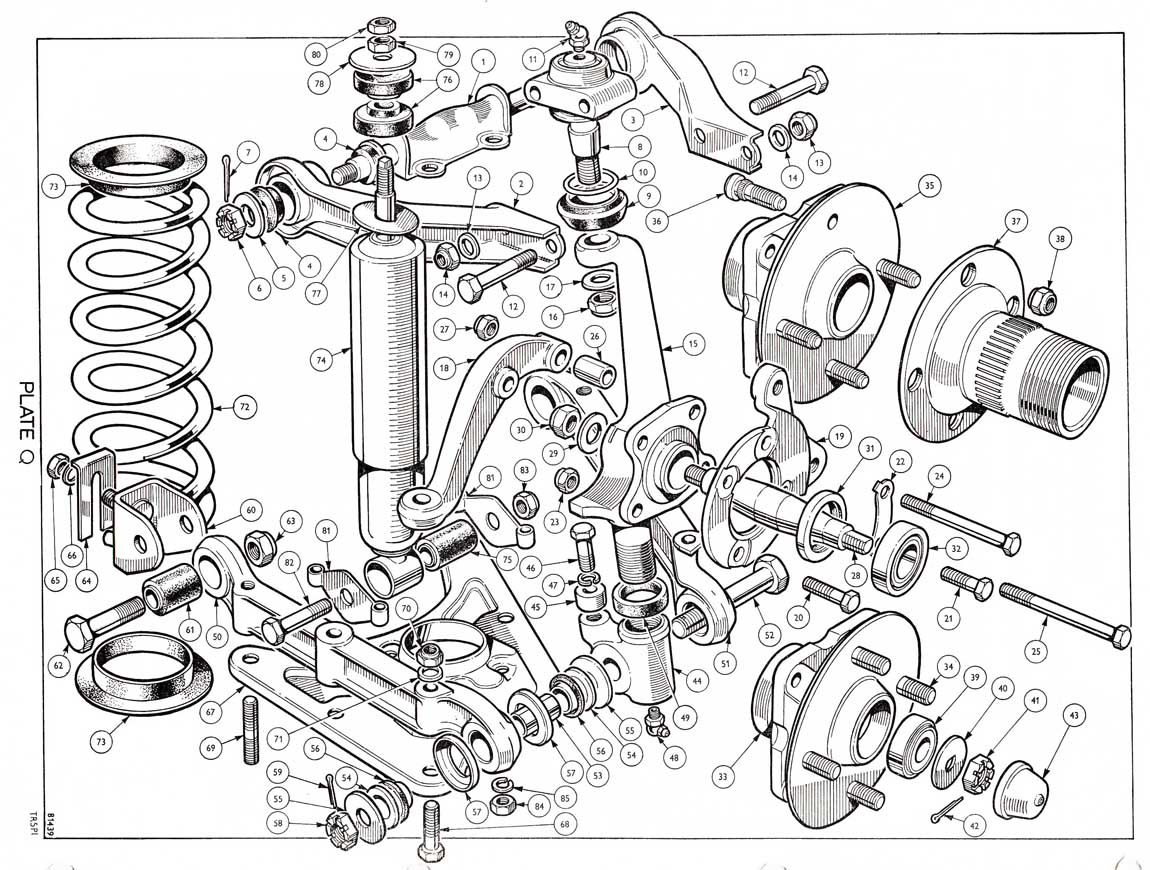 1973 Tr6 Wiring Diagram. Tr6 Engine, Ignition Switch Diagram ...