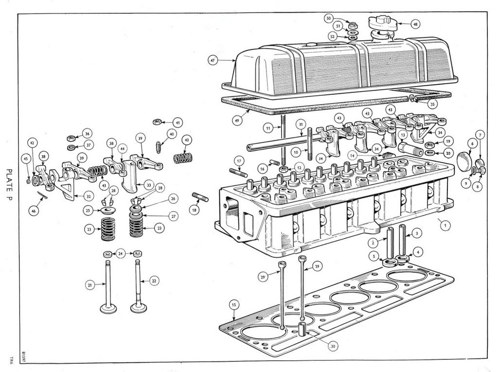 Tr6 Engine Head Diagram. Engine. Auto Parts Catalog And