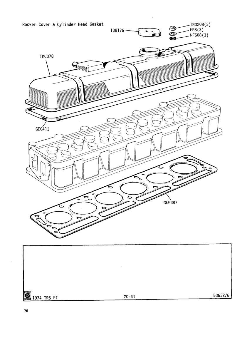 Tr6 Engine Head Diagram. Engine. Auto Parts Catalog And