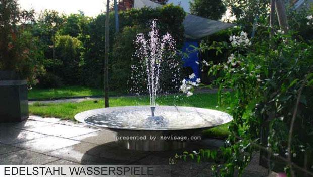 EdelstahlGartenbrunnen und Granitbrunnen OnlineShop