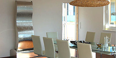 Edelstahlbrunnen Zimmerbrunnen von Hinger Home Design