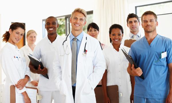 Alunos no preparatório de residência médica