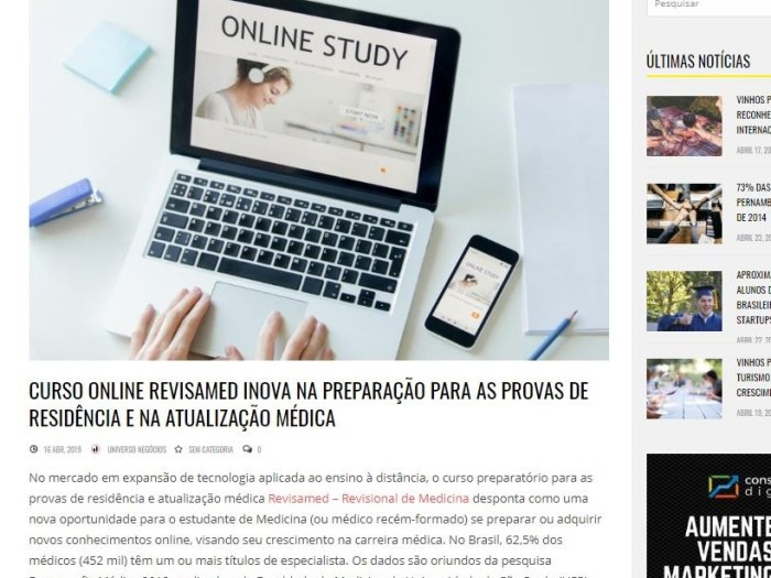 site desta diferencias do Revisamed