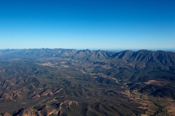 The fold mountains of the Cape are among the most prominent features of folding. Image via AfricanSky.
