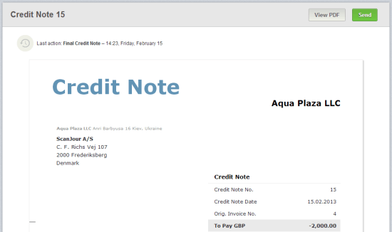 Credit Note And Debit Note  Debit Note Issued By Supplier