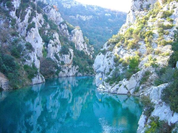 The Gorges du Verdon. Image credit weebly.com