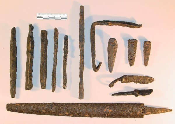 Iron age tools. Image credit ct.gov