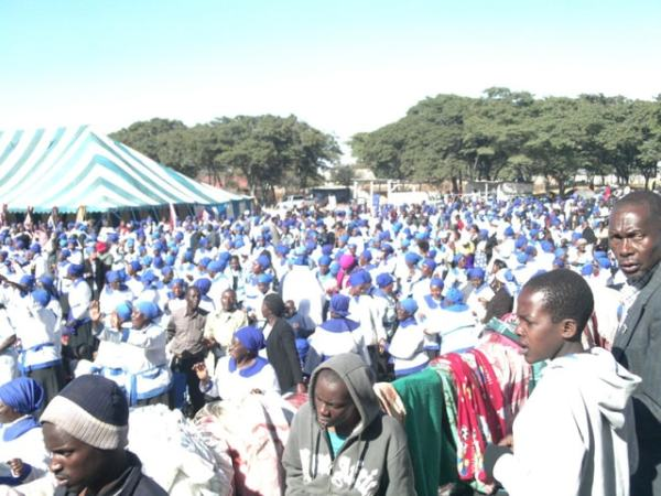 Anglicans still gather at Bernard Mizeki in Marondera. Image credit relzim.org