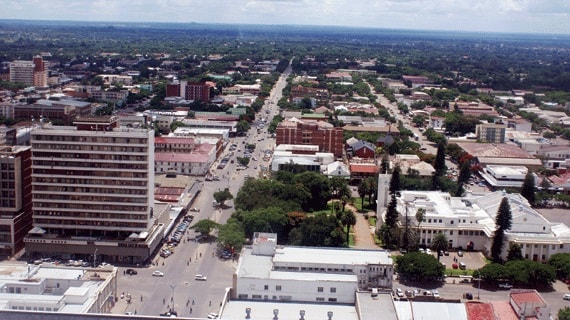 Bulawayo Zimbabwe's second largest city. Image credit southerneye.co.zw