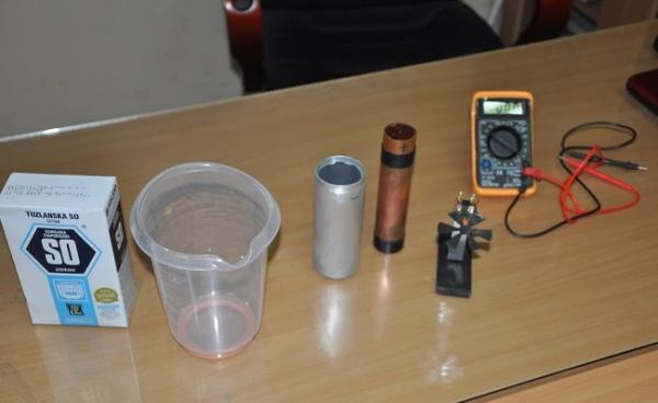 Apparatus used in the electrolysis of water. Image credit youtube.com